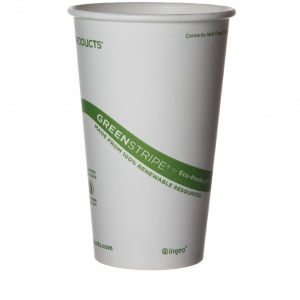 GreenStripe Hot Cups 470ml (16oz) - 1000pcs