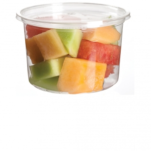Round Deli Containers 470ml (16oz) - 500pcs