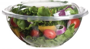 Salad Bowls w/ Lids 710ml (24oz) - 150pcs