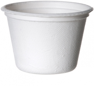 Bagasse Portion Cups 120ml (4oz) - 1800pcs
