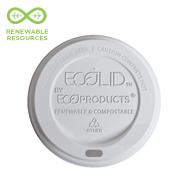 Renewable & Compostable EcoLid® Hot Cup Lid