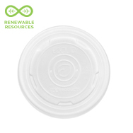 Renewable & Compostable EcoLid® Soup Container Lid