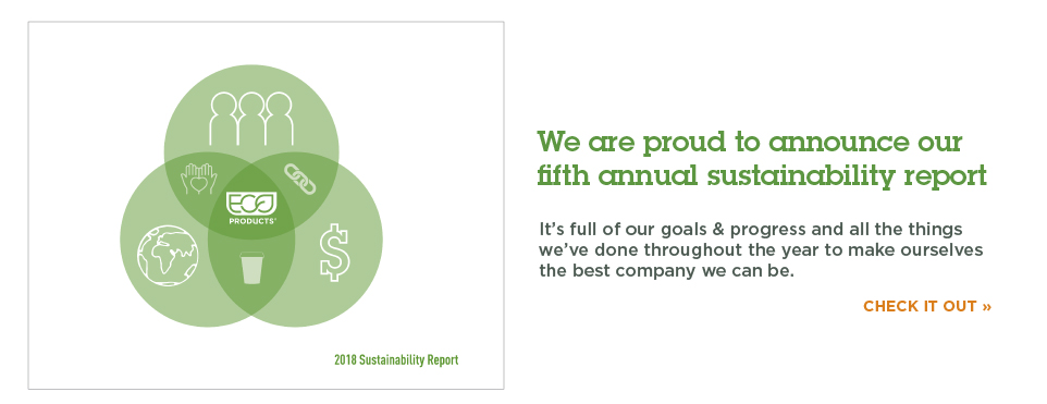 Eco-Products Announces their Fifth Annual Sustainability Report